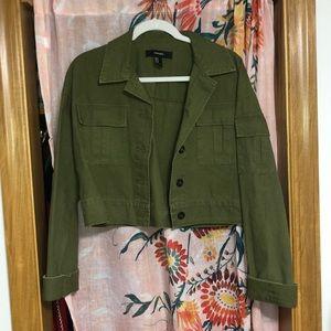 Green cargo jacket (unworn)
